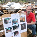 Tornado Destroys Home: Man Camps on Site Until All 7 Cats Safely Found