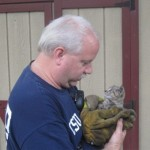 Maryland Firefighters Dismantle HVAC to Save Orphaned Kitten