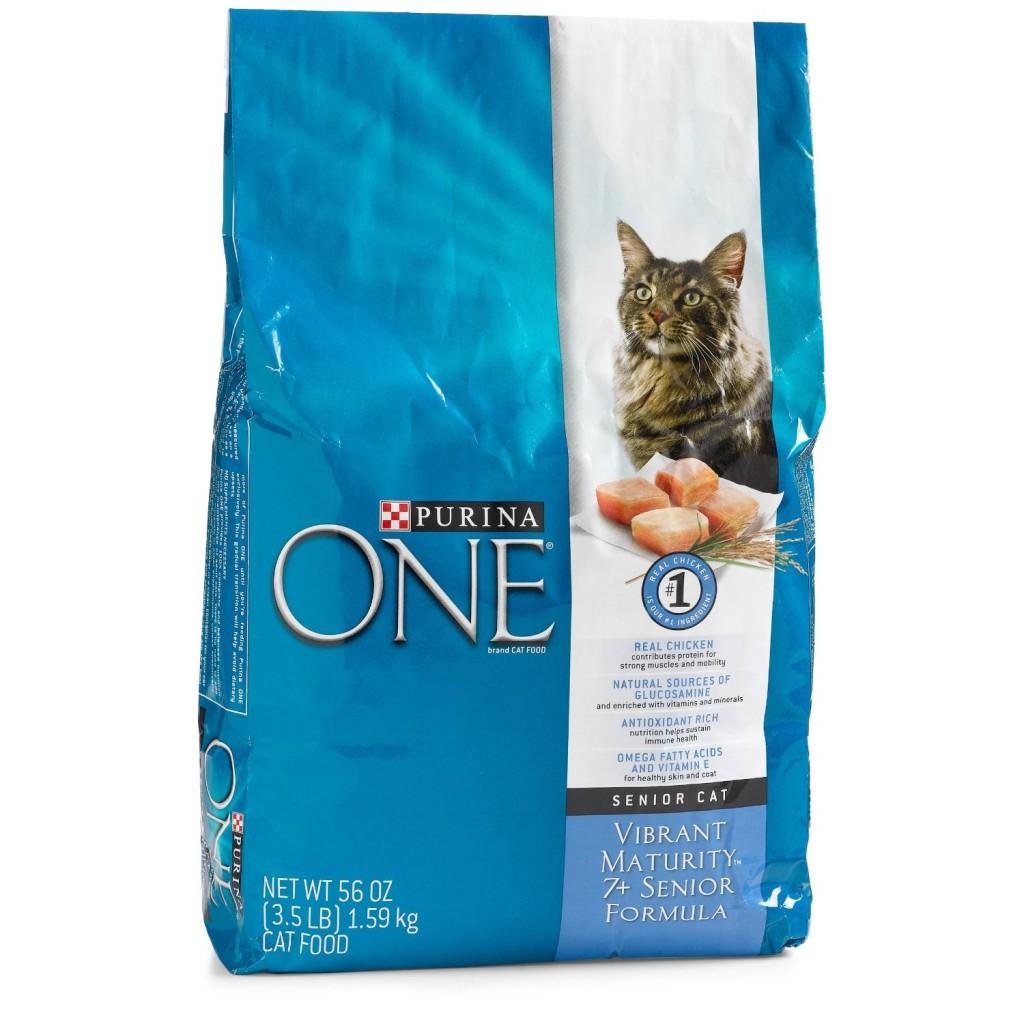 Purina ONE Vibrant Maturity 7+ Cat Food Recall