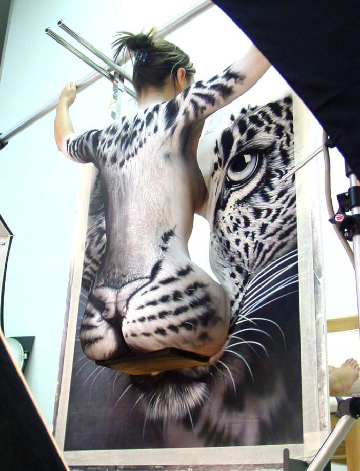 Human Body Painting Amazing Body Painting Art