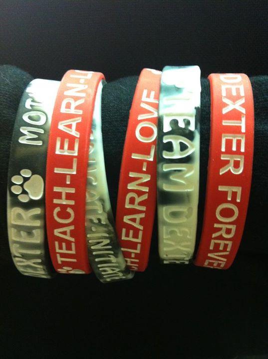 Team Dexter Bracelets: Fashion With A Statement