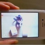 iPhone 4S and Kitten