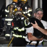 Rescue! Firefighters Revive Mittens At Scene Of Burning Home