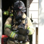 Firefighters Rescue Family's 5 Cats From House Fire Today
