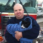 Cat Pulled from Fire is Revived by Paramedic