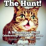 THE HUNT: Join the Online Scavenger Hunt, Sunday Feb. 17!