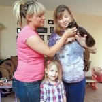 Missing Cat Cleo's Family Finds Her at the Shelter After 2 Years