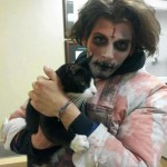 Zombie Rescues Cat Missing For 2 Years