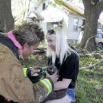 Firefighters Rescue and Revive Cat at Scene of Spokane House Fire