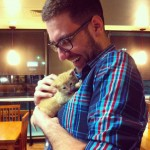 So, tonight I got to hold a kitten for the first time …