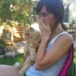 Emotional Reunion as Missing Cat Comes Back