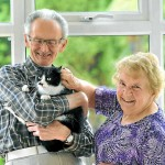 Couple are Reunited with Their Missing Cat After a Year