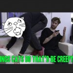 Things Cats Do That'd Be Creepy If A Human Did Them