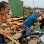 Couple Finds Cat in Debris of Home Destroyed by Arkansas Tornado