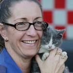 Kitten is Rescued from Burning Home and Revived with Oxygen