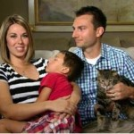 Hero Cat and Family Appear on Today Show