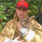 Firefighters Rescue Little Girl's Missing Cat