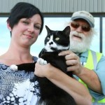 Truckers reunite family with cat that went missing during move