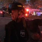 Firefighter Rescues Cat from Burning Apartment