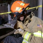 Kitten gets purrfect rescue by Austin firefighters