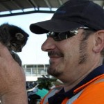 Transfer station operators rescue kitten in danger of being crushed