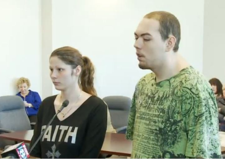 Cat tossing couple plead guilty to charges