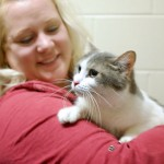 Winne's rescue: Cat thrown into cold river waters is saved