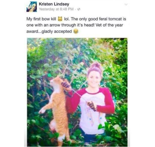Texas veterinarian is fired after killing cat and boasting at Facebook