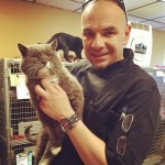 Missing cat is reunited with his petdad after 7 years