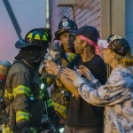 Firefighters rescue kitten from 5 alarm New Hampshire fire