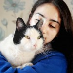 Missing cat catches train back home