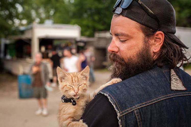 Gavin Rescue Cat