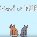 Are your cats friends or foes?