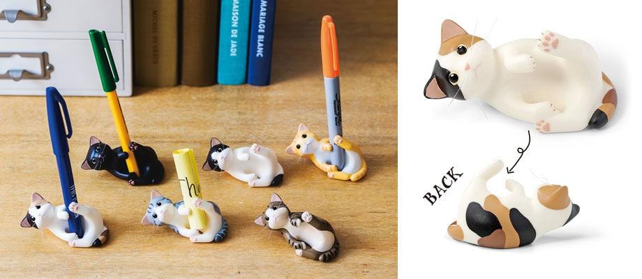 Felissimo cat pen holders