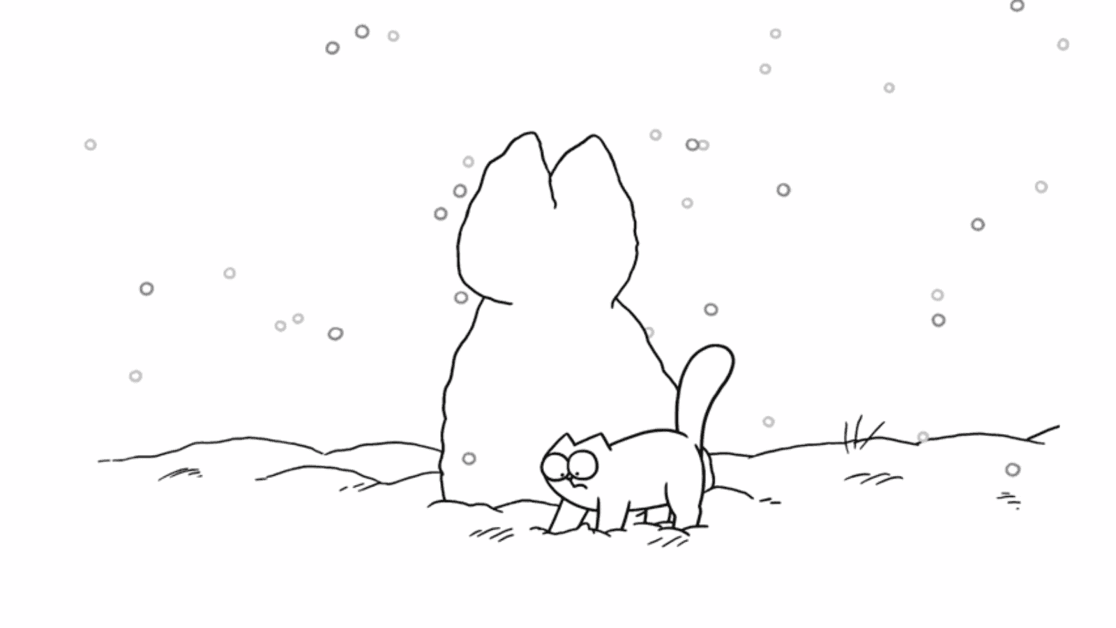 Simon S Cat Snow Cat A Festive Special Life With Cats