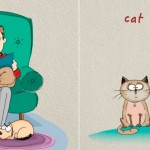 Cats Get Upper Paw in Cat-Dog Rivalry