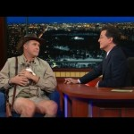 Will Ferrell Tames Peruvian Mongoose on Late Show; Just Kidding, It's a Kitten
