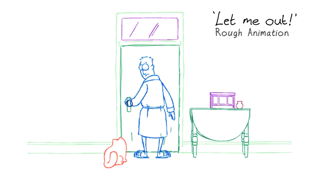Simon's Cat Logic – Let Me In, Let Me Out