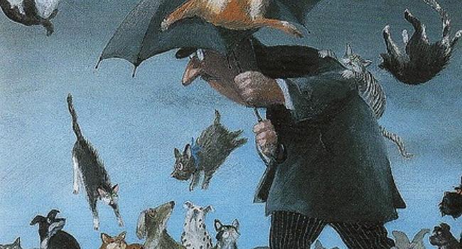 Raining Cats Dogs Origin