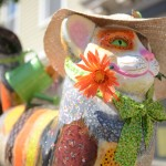 Catskill Currently Decorated With 50 Giant Cat Statues