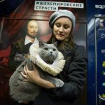 Costumed Cat Takes the Subway to Honor William Shakespeare