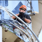 Local Heroes Rescue Cat Stuck on Water Tower