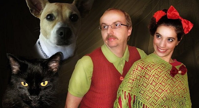 31 fantastically awkward holiday family pet photos one for every day in december life with cats - Awkward Christmas Family Photos
