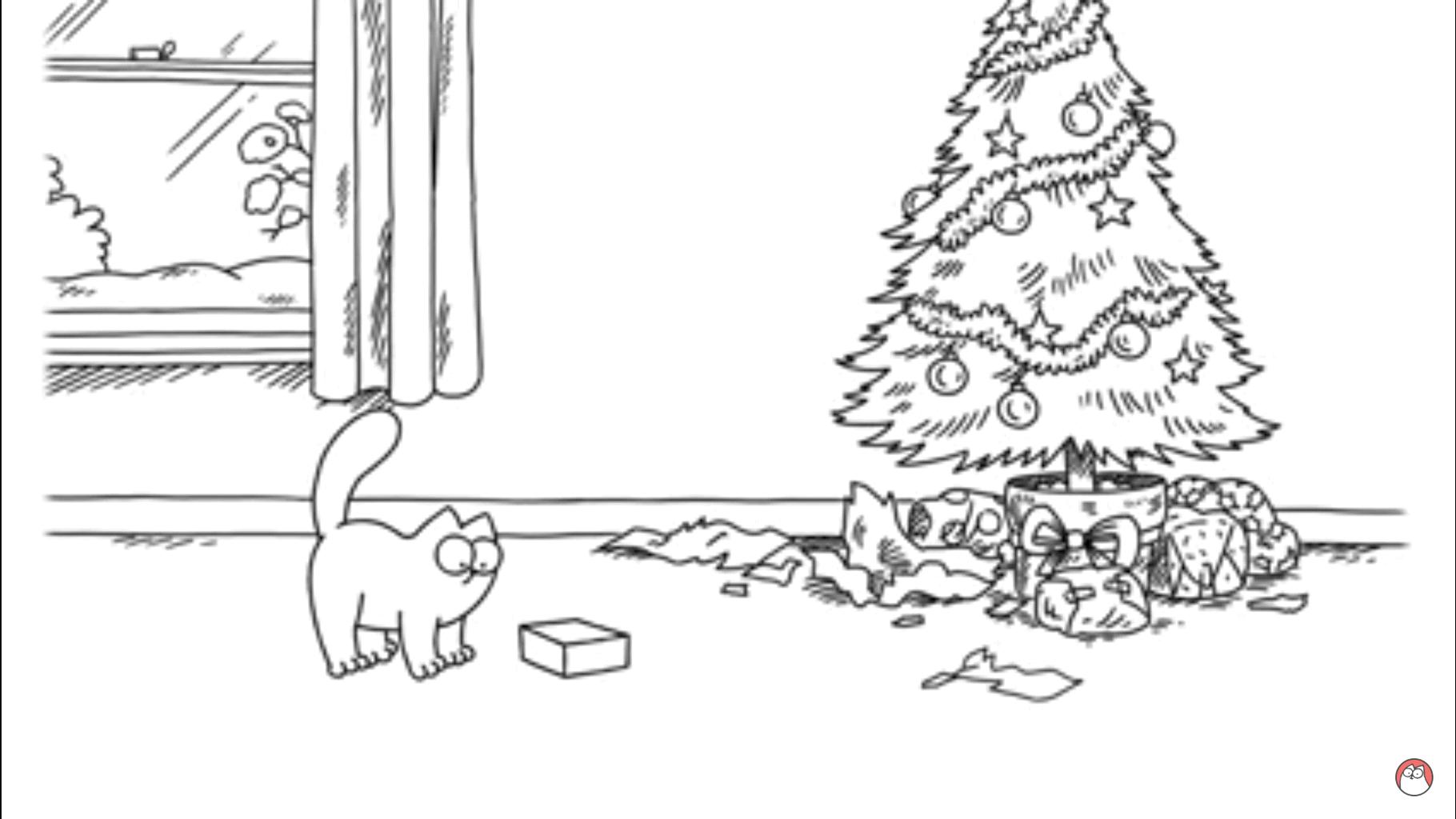 top 28 simons cat weihnachtsbaum weihnachten mit simon. Black Bedroom Furniture Sets. Home Design Ideas