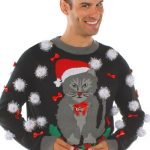 20 Ugly Christmas Sweaters Featuring Cats With Which to Dazzle at Holiday Parties!