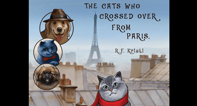 You Can't Miss This Great Read: The Cats Who Crossed Over from Paris