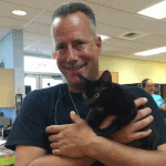 Marine Deputy Saves Kitten from Drowning & Adopts Him