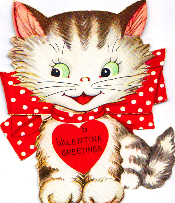 Catnip Toys For Valentine S Day : Happy valentine s day kitty style life with cats