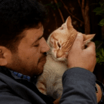 Heroic Cat Man of Aleppo Rebuilds After Bombing