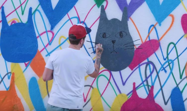 Just in Case You Missed National Cat Day Check Out This Fantastic Mural